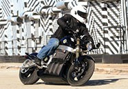 Tests on Canada's first fully electric motorcycle